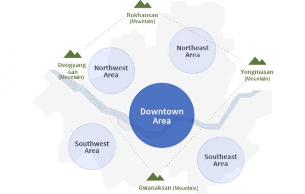 Future establishment of 140 neighborhood zones