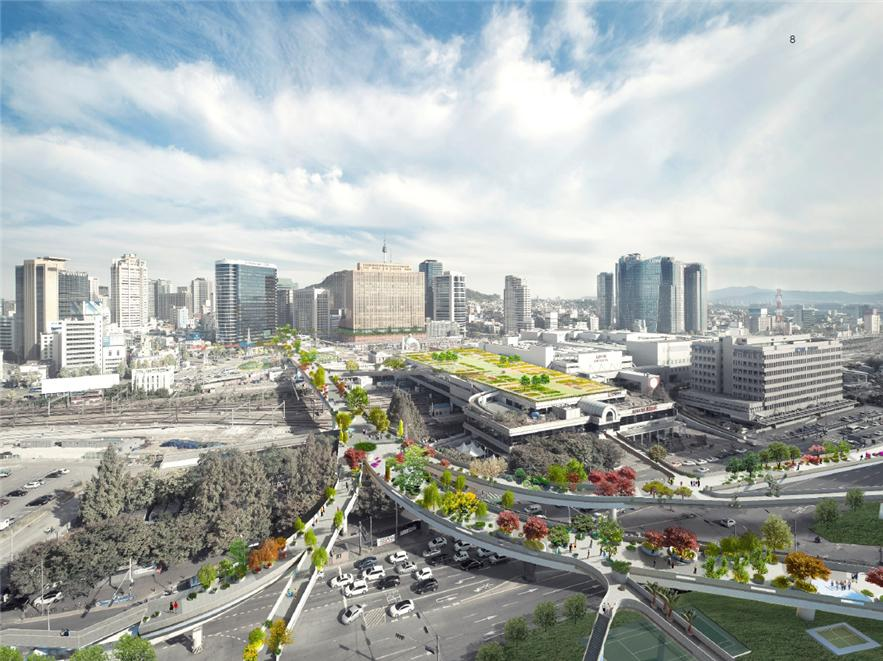 Winy Maas' Architectural Design for the Seoul Station 7017 Project