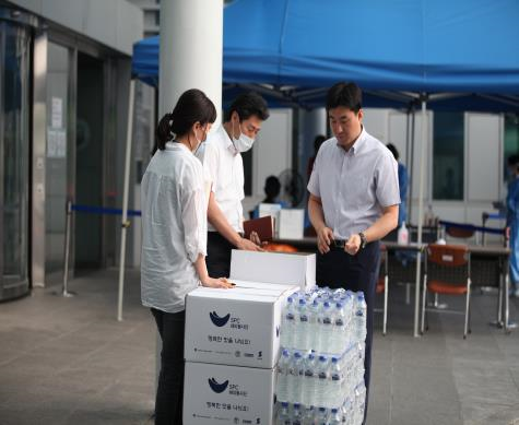 SPC Happy Foundation – Provided snacks such as pastries and beverages