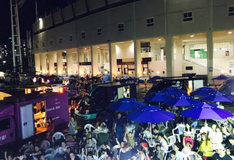 Mokdong Stadium Recreational Sports Market