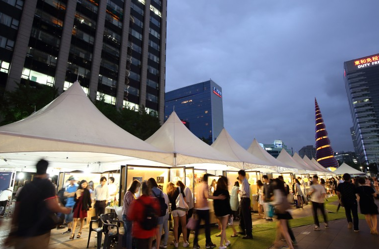 Cheonggye Plaza Season Market