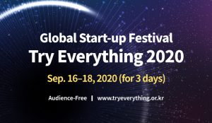 Try Everything 2020 – Opening of a Large Scale Start-up Festival