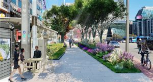Completion of Pedestrian Forest Path on Sejong-daero and Grand Opening in January 2021