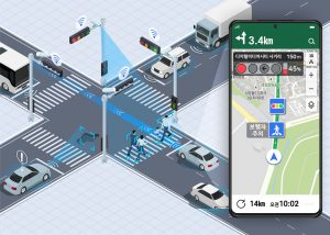 GPS Navigation to Inform Dangers (E.g. Traffic Signals, Jaywalking) Starting in June