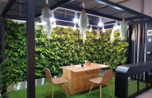 Installation of 44 Indoor Smart Gardens as Space for Healing in the COVID-19 Era