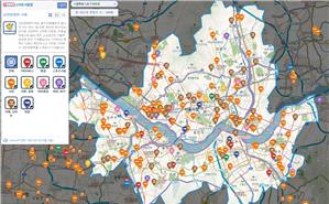 Consumer-Friendly Smart Seoul Map, Pedestrian Path Accessibility, Multilingual Maps of Designated Screening Clinics