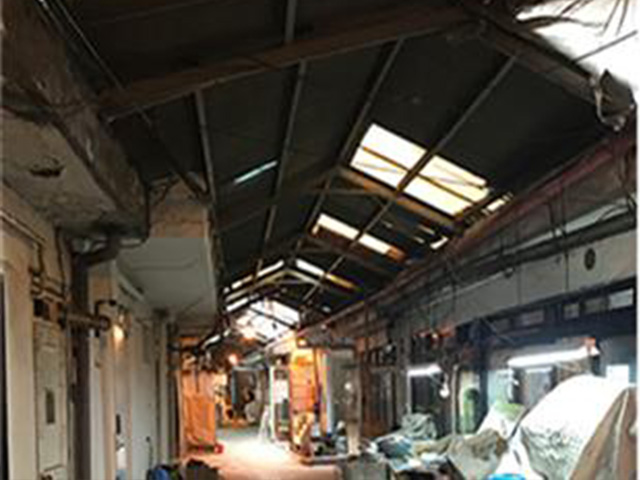 Inside of Sinheung Market (Before)