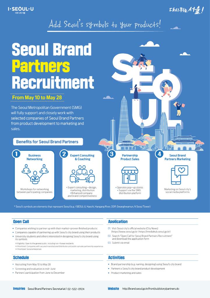 Seoul Brand Partners Recruitment Poster